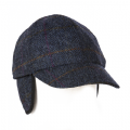 Baseball Tweed Cap - Blue